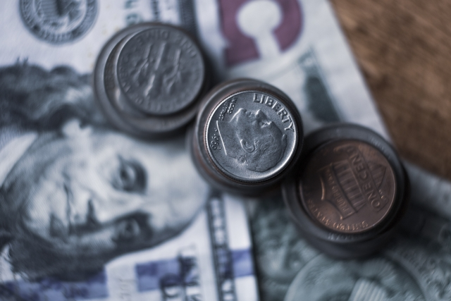 投資用の外国の紙幣