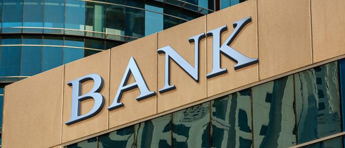 海外銀行の看板